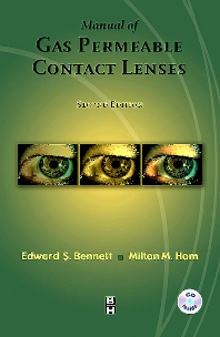 Cover image for Manual of Gas Permeable Contact Lenses