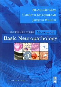 Cover image for Escourolle and Poirier's Manual of Basic Neuropathology