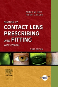 Cover image for Manual of Contact Lens Prescribing and Fitting with CD-ROM