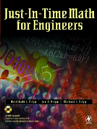 Cover image for Just-In-Time Math for Engineers