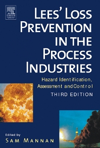 Cover image for Lees' Loss Prevention in the Process Industries