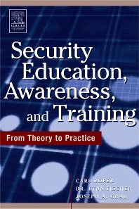 Cover image for Security Education, Awareness and Training