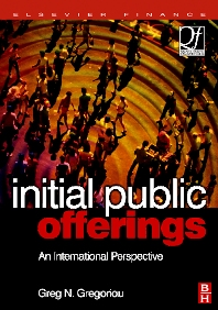 Initial Public Offerings (IPO), 1st Edition,Greg Gregoriou,ISBN9780750679756