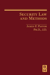 Cover image for Security Law and Methods