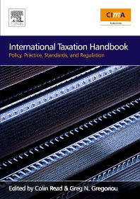 International Taxation Handbook, 1st Edition,Greg Gregoriou,Colin Read,ISBN9780750683715