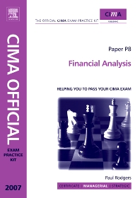 Cover image for CIMA Exam Practice Kit Financial Analysis