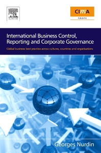Cover image for International Business Control, Reporting and Corporate Governance