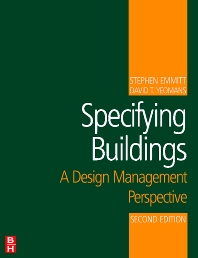 Specifying Buildings - 2nd Edition - ISBN: 9780750684507
