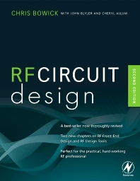 RF Circuit Design - 2nd Edition - ISBN: 9780750685184, 9780080553429
