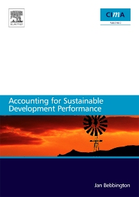 Cover image for Accounting for sustainable development performance