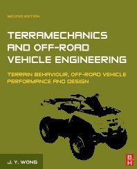 Terramechanics and Off-Road Vehicle Engineering, 2nd Edition,J.Y. Wong,ISBN9780750685610