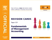 CIMA Revision Cards Fundamentals of Management Accounting