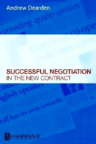 Successful Negotiation in the New Contracts - 1st Edition - ISBN: 9780750688215