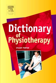 Cover image for Dictionary of Physiotherapy