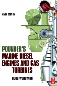 Cover image for Pounder's Marine Diesel Engines and Gas Turbines