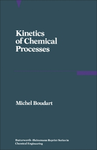 Cover image for Kinetics of Chemical Processes