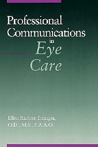 Cover image for Professional Communications in Eye Care