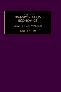 Research in Transportation Economics, 1st Edition,B. Starr McMullen,ISBN9780762302239