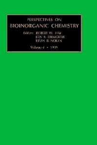 Perspectives on Bioinorganic Chemistry, Volume 4, 1st Edition,R.W. Hay,J.R. Dilworth,K.B. Nolan,ISBN9780762303526