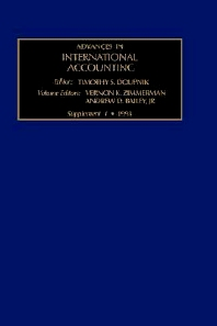 The Evolution of International Accounting Standards in Transitional and Developing Economies - 1st Edition - ISBN: 9780762304615, 9780080943961