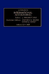 Cover image for Advances in International Accounting