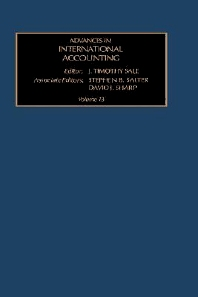 Advances in International Accounting, 1st Edition,J.T. Sale,ISBN9780762306435