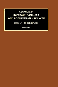 Advances in Investment Analysis and Portfolio Management - 1st Edition - ISBN: 9780762306589, 9780080944036