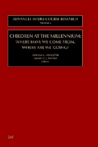 Children at the Millennium, 1st Edition,Timothy J Owens,Sandra L. Hofferth,ISBN9780762307760