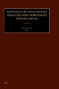 Advances in Investment Analysis and Portfolio Management, Volume 8, 1st Edition,Cheng-Few Lee,ISBN9780762307982