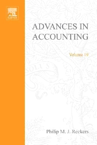 Advances in Accounting, 1st Edition,Philip Reckers,ISBN9780762308712