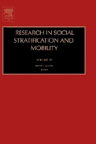 Research in Social Stratification and Mobility, 1st Edition,Kevin T Leicht,ISBN9780762308798