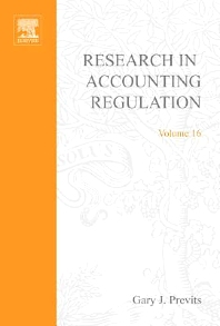 Research in Accounting Regulation, 1st Edition,Gary Previts,ISBN9780762310227