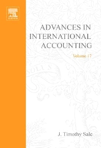Advances in International Accounting, 1st Edition,J. Timothy Sale,ISBN9780762311279
