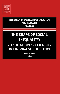The Shape of Social Inequality, 1st Edition,David Bills,ISBN9780762311781