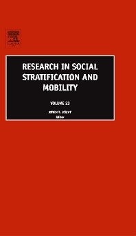 Research in Social Stratification and Mobility - 1st Edition - ISBN: 9780762312078, 9780080460581