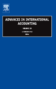 Advances in International Accounting, 1st Edition,J. Timothy Sale,ISBN9780762313990