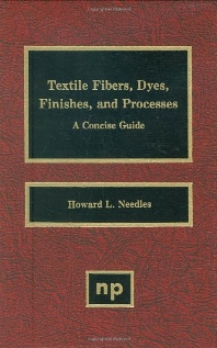 Textile Fibers, Dyes, Finishes and Processes - 1st Edition - ISBN: 9780815510765, 9780815519201