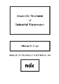 Cover image for Anaerobic Treatment of Industrial Wastewaters
