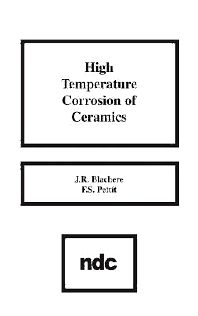 High Temperature Corrosion of Ceramics - 1st Edition - ISBN: 9780815511885, 9780815517917