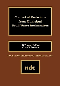 Cover image for Control of Emissions from Municipal Solid Waste Incincerators