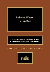 Cover image for Solvent Waste Reduction