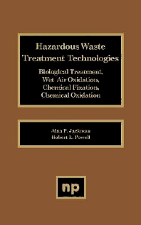 Haz Waste Treatment Technologies Biologicl, 1st Edition,Author Unknown,ISBN9780815512684