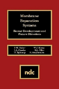 Membrane Separation Systems, 1st Edition,R.W. Baker,ISBN9780815512707