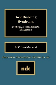 Sick Building Syndrome - 1st Edition - ISBN: 9780815512899, 9780815519010