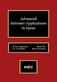 Advanced Software Applications in Japan, 1st Edition,UNKNOWN AUTHOR,Elaine Rich,Gio Wiederhold,Michael Harrison,ISBN9780815513605
