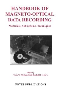 Cover image for Handbook of Magneto-Optical Data Recording