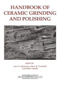 Cover image for Handbook of Ceramics Grinding & Polishing