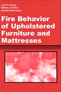 Cover image for Fire Behavior of Upholstered Furniture and Mattresses