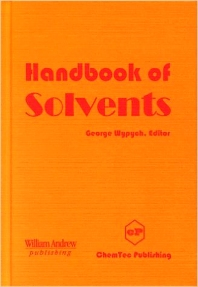 Handbook of Solvents - 1st Edition - ISBN: 9780815514589