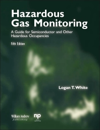 Cover image for Hazardous Gas Monitoring, Fifth Edition